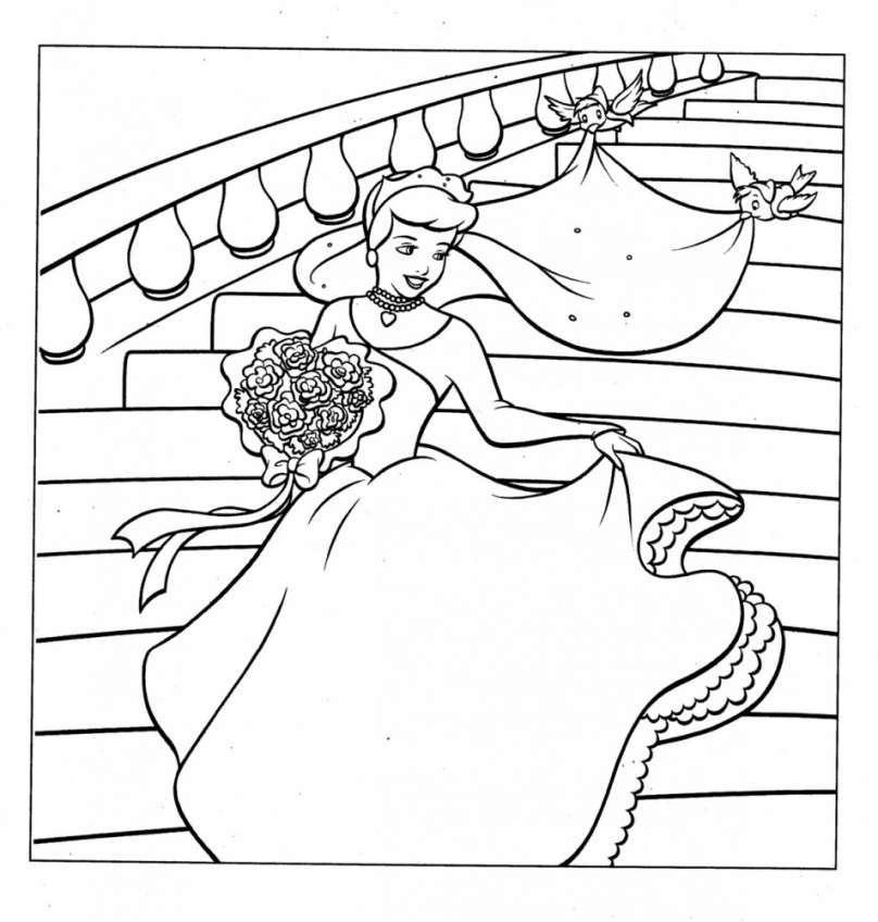 Tuyển tập tranh tô màu truyện cổ tích hấp dẫn cho bé