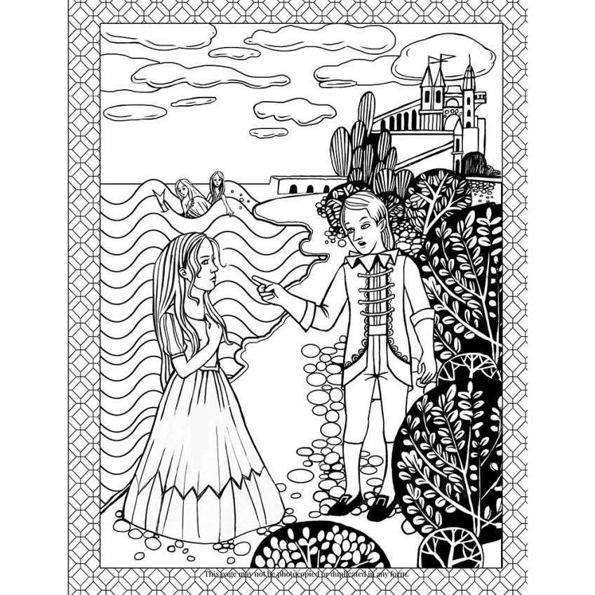 Tuyển tập tranh tô màu truyện cổ tích hấp dẫn dành cho các bé