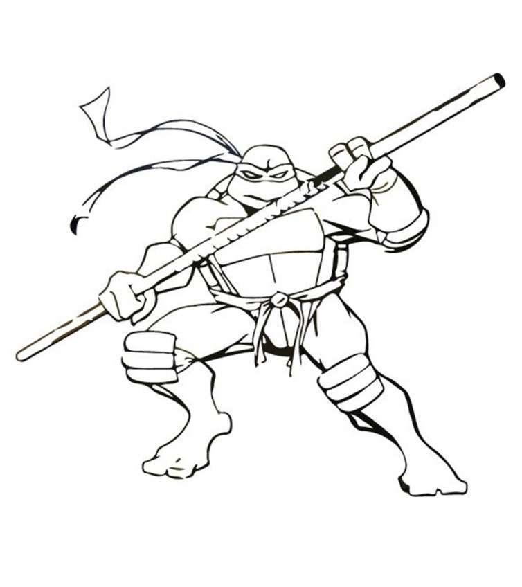 Tổng hợp tranh tô màu ninja siêu dễ thương cho bé