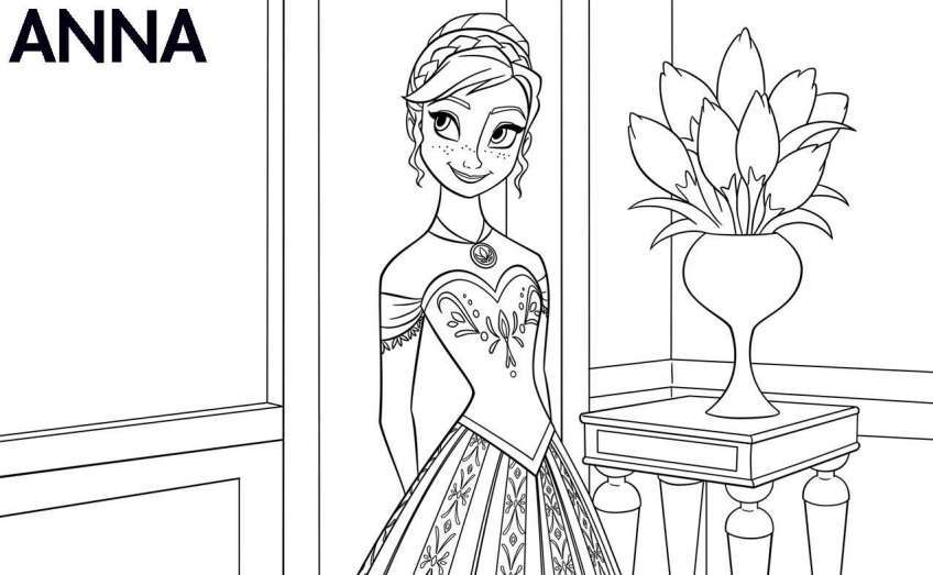 Tuyển tập tranh tô màu công chúa đẹp nhất cho bé yêu