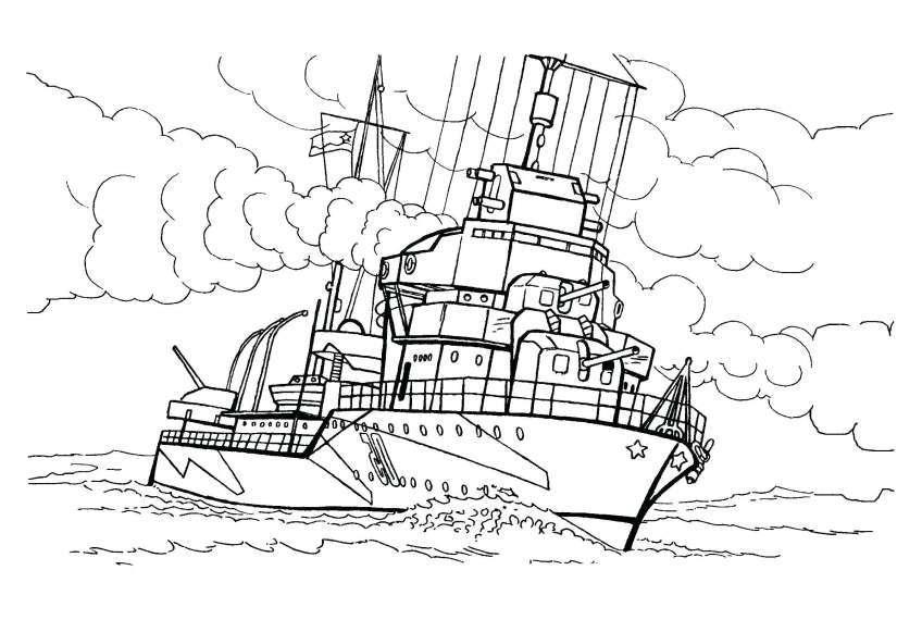 Tổng hợp tranh tô màu con tàu đẹp nhất cho bé