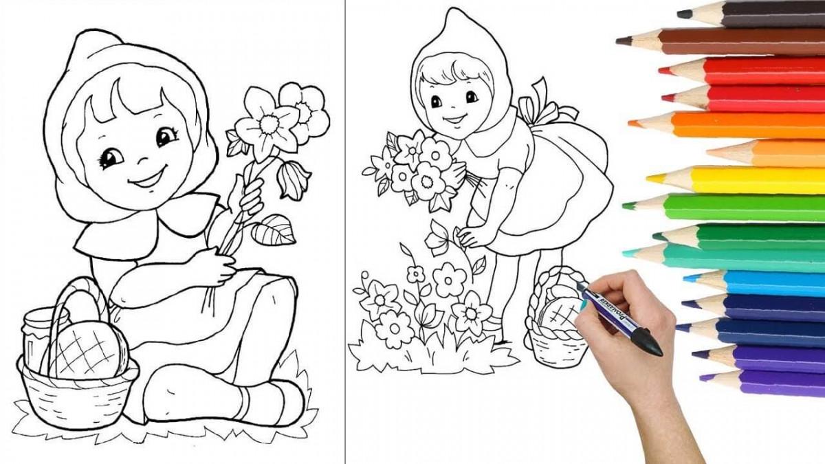 Tổng hợp những bức tranh tô màu đẹp nhất cho bé học đường
