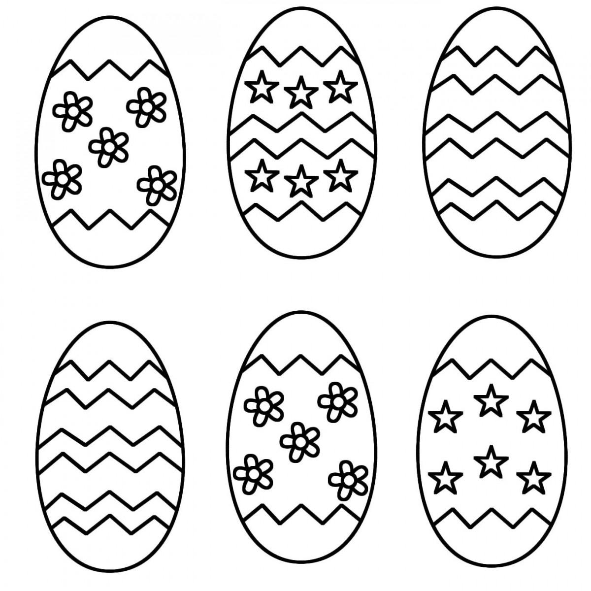 Bộ sưu tập những quả trứng tô màu đẹp nhất cho bé