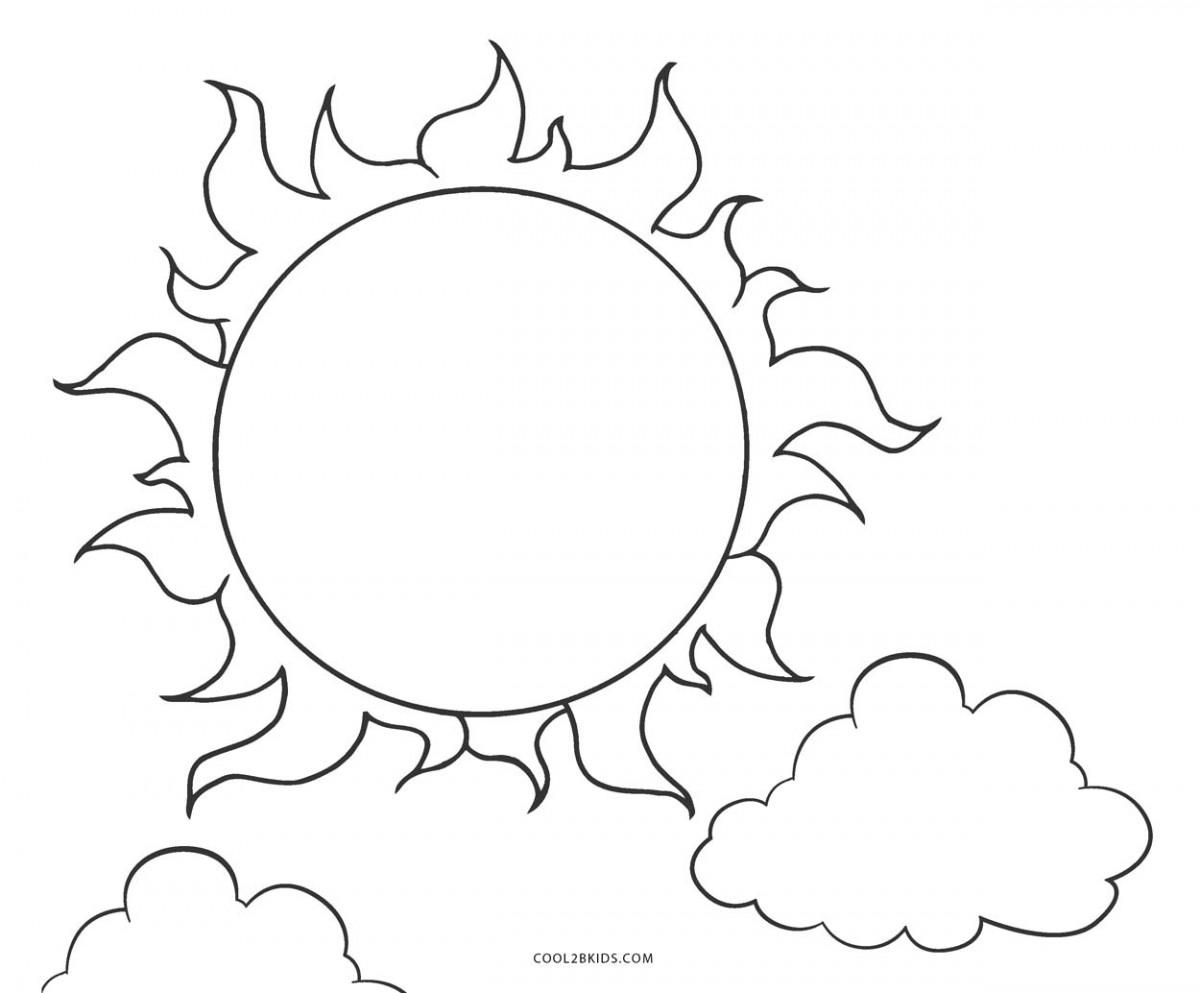Bộ sưu tập tranh tô màu ánh nắng đẹp nhất cho bé yêu