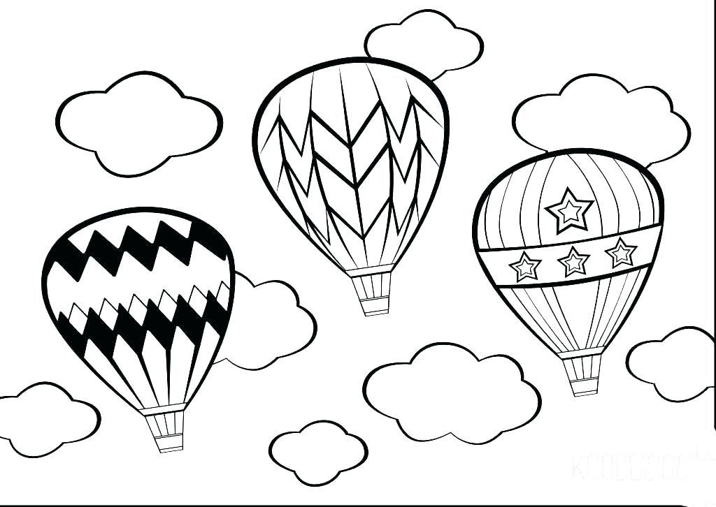 Tổng hợp sách tô màu khinh khí cầu hay nhất cho bé