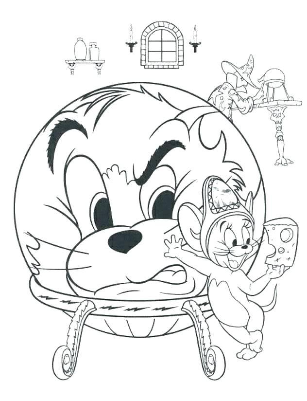 Tổng hợp những bức tranh tô màu Tom và Jerry đẹp nhất cho bé
