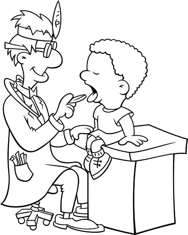 Tổng hợp sách tô màu bác sĩ tô màu hay nhất cho bé