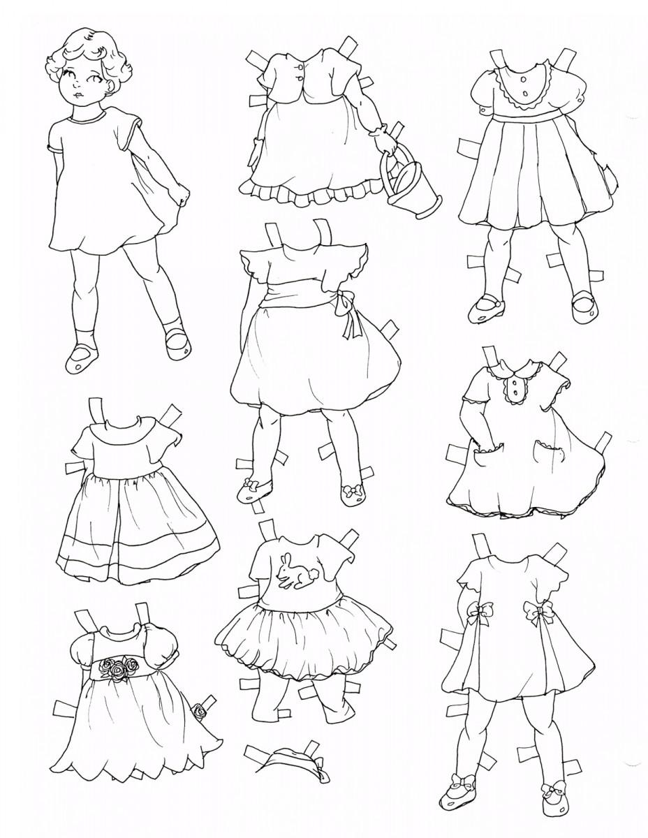 Tổng hợp những bộ đồ bé tô màu đẹp nhất