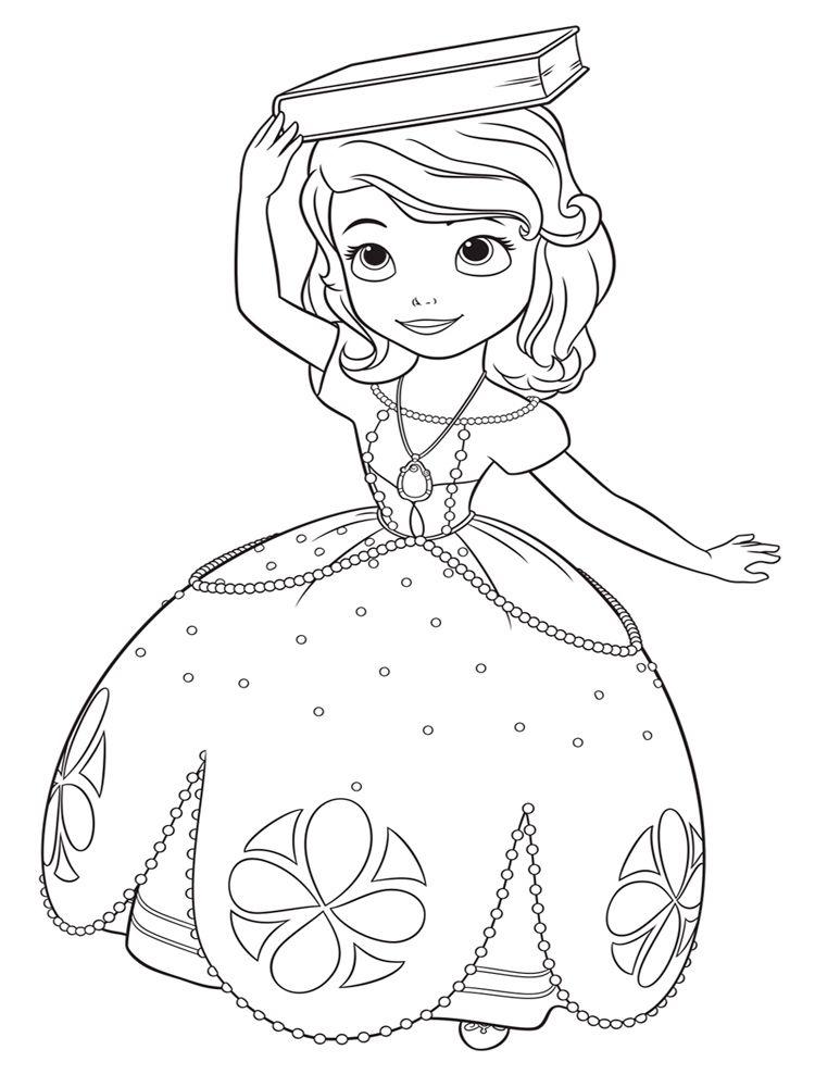 Tuyển tập tranh tô màu công chúa Chibi cực đẹp