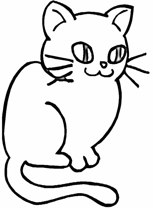Tuyển tập tranh tô màu Mèo đẹp nhất