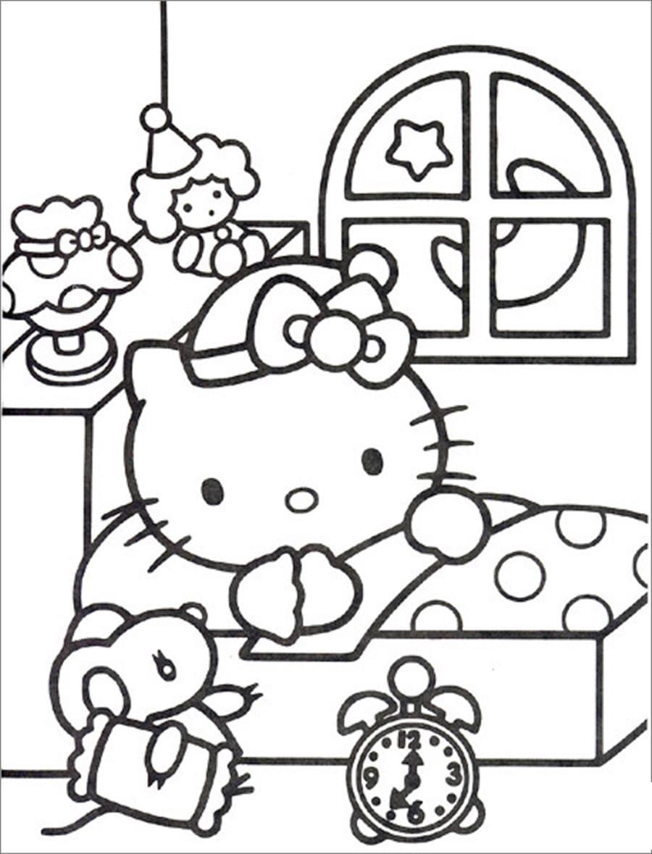 Tổng hợp tranh tô màu cho bé 4 tuổi chủ đề truyện tranh
