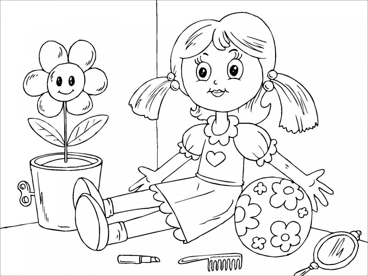 Tổng hợp tranh tô màu cho bé 3 tuổi đẹp đơn giản