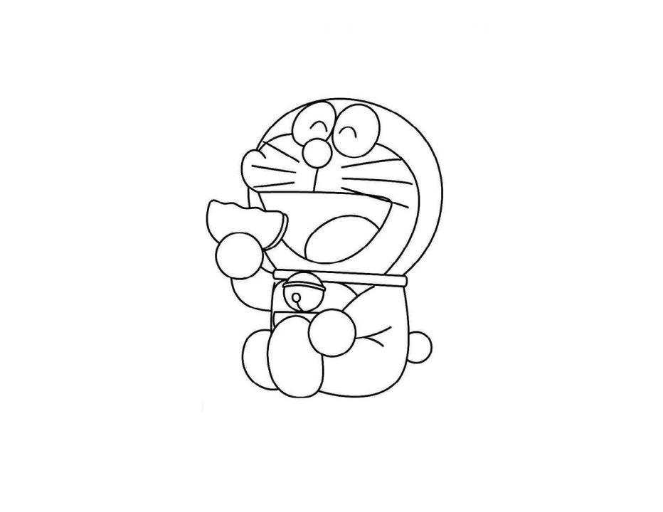 Tuyển tập tranh tô màu Doremon sinh động