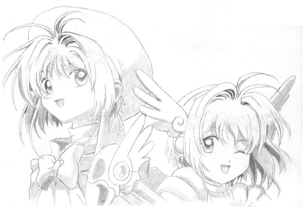Tuyển tập những bức tranh tô màu anime đẹp nhất
