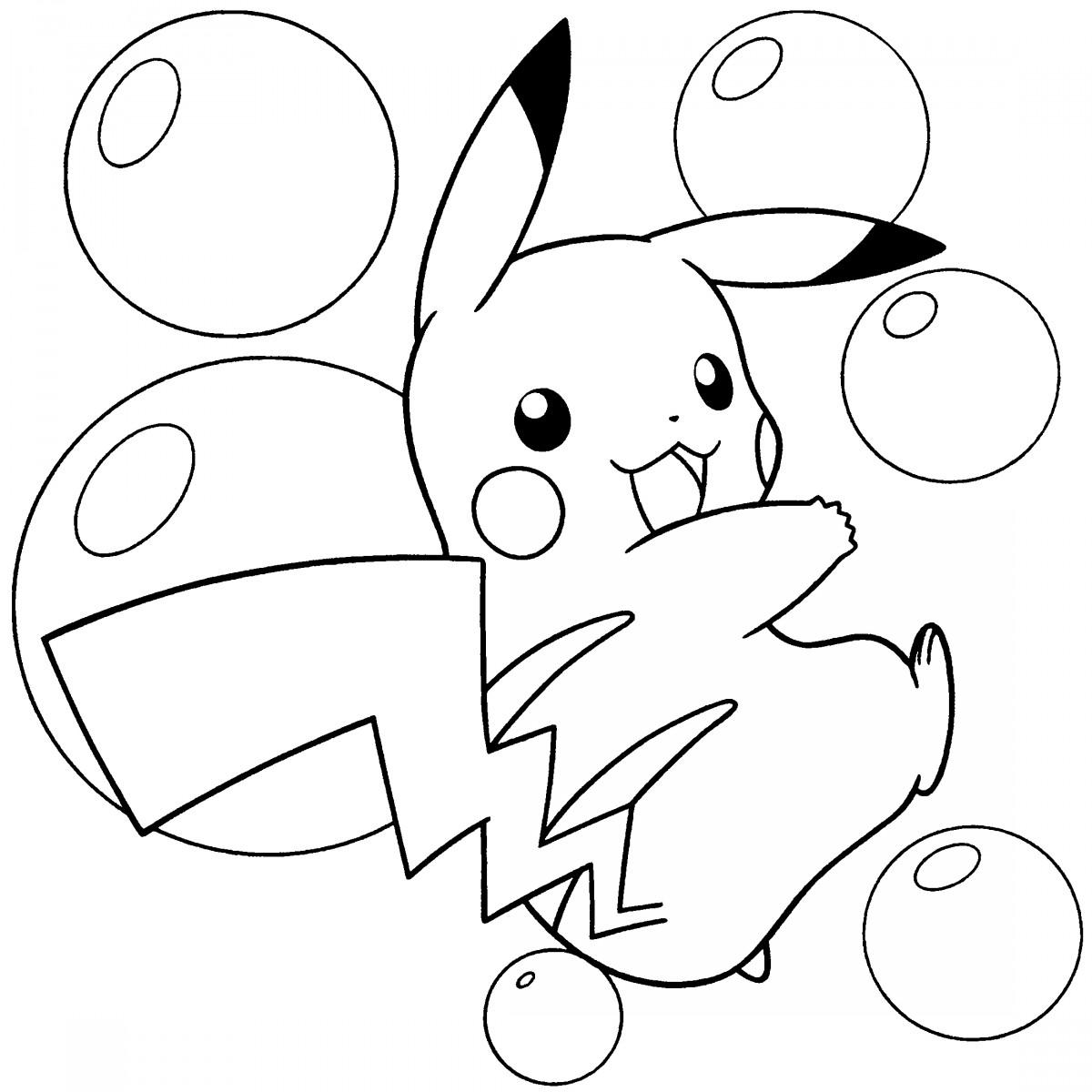 Tuyển tập tranh tô màu pokemon đẹp nhất