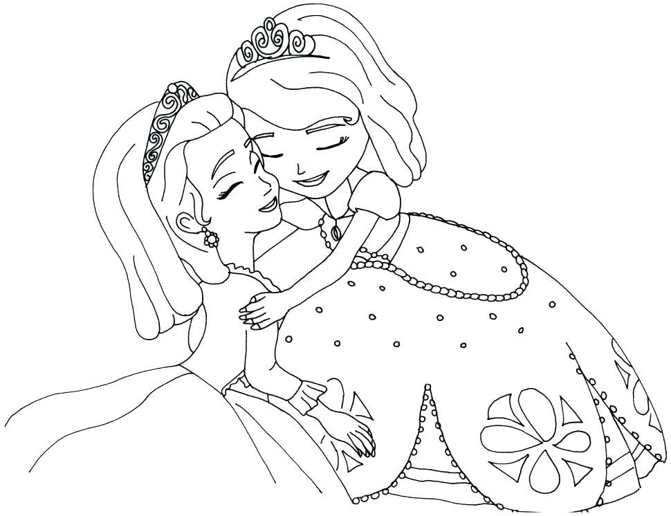 Bộ sưu tập tranh tô màu công chúa đẹp