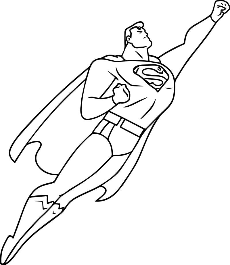 Tuyển tập tranh tô màu siêu nhân cực đẹp