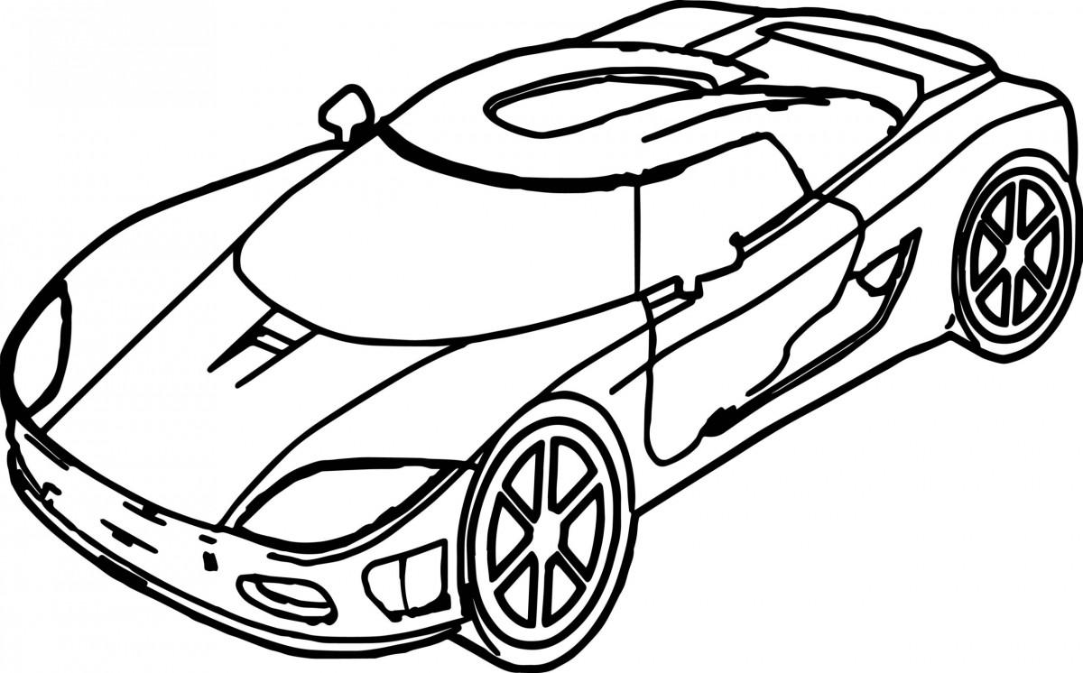 Tổng hợp những bức tranh tô màu ô tô đẹp nhất cho bé