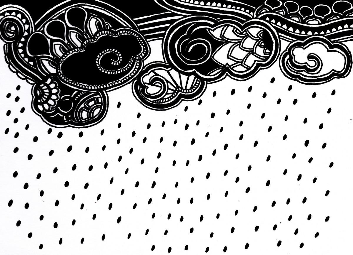Tổng hợp những bức tranh tô màu về cơn mưa đẹp nhất cho bé yêu