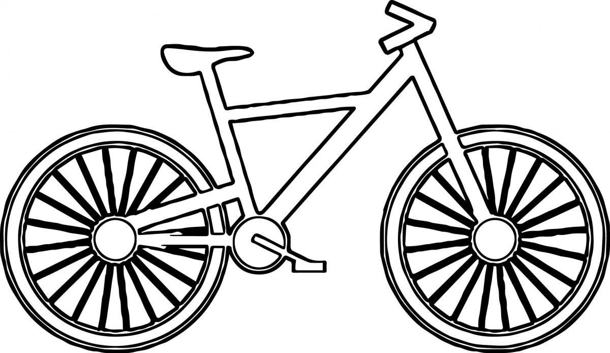 Tổng hợp những bức tranh tô màu xe đạp đẹp nhất cho bé