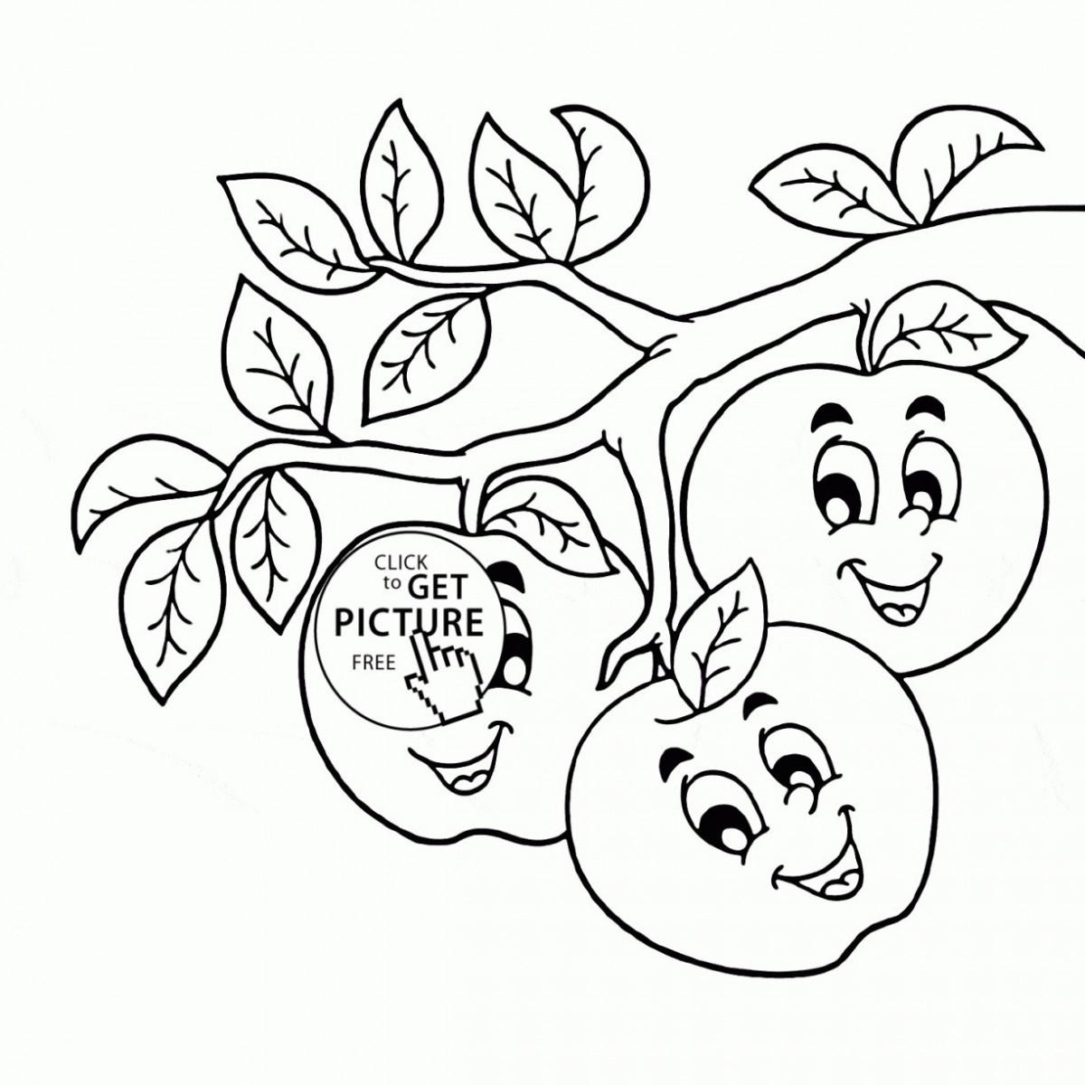 Tổng hợp những bức tranh tô màu quả cam đẹp nhất cho bé 1