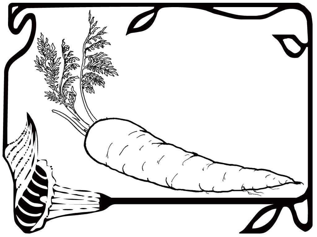 Tuyển tập tranh tô màu củ cà rốt đẹp nhất cho bé yêu