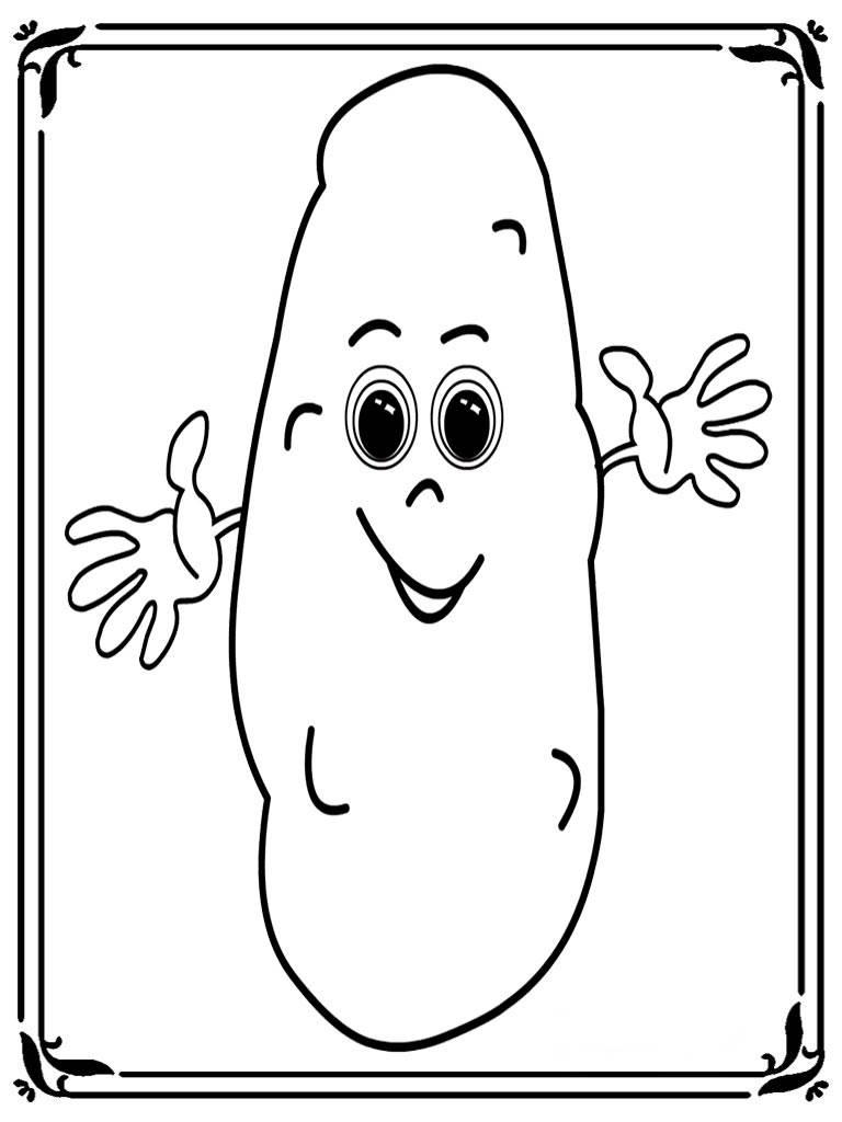 Tổng hợp những bức tranh tô màu về củ khoai lang đẹp nhất cho bé tập tô mỗi ngày