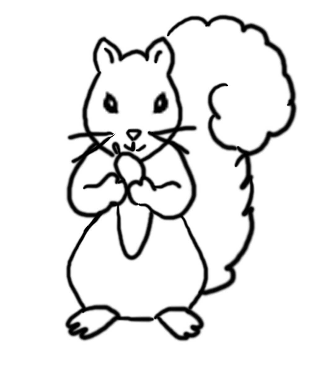 Tổng hợp những bức tranh tô màu đẹp nhất về chú sóc con