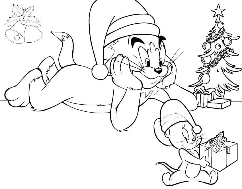 Tuyển tập tranh tô màu Tom và Jerry đẹp nhất cho bé