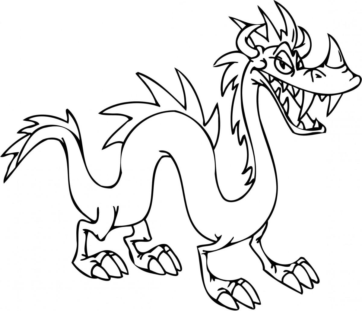 Tuyển tập tranh tô màu con rồng đẹp nhất