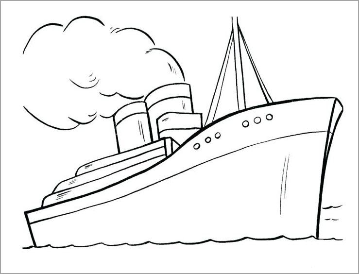 Tuyển tập tranh tô màu thuyền buồm đẹp nhất