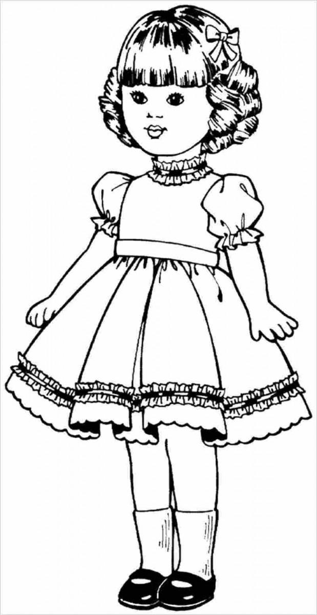 Tổng hợp tranh tô màu cho bé gái 7 tuổi đẹp nhất