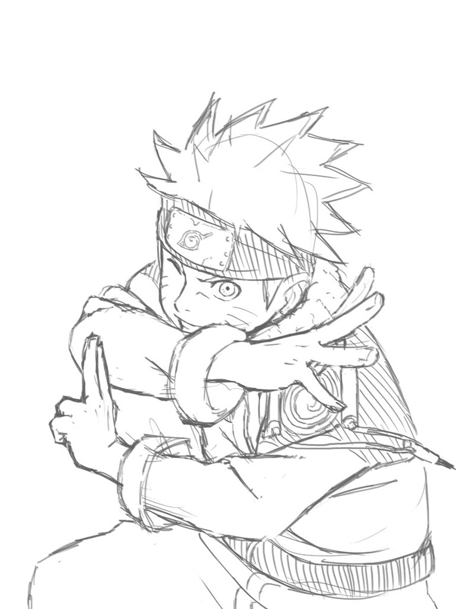 Tuyển tập tranh tô màu Naruto đẹp nhất